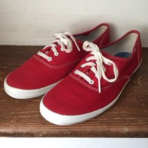 Keds Classic Red Sneakers